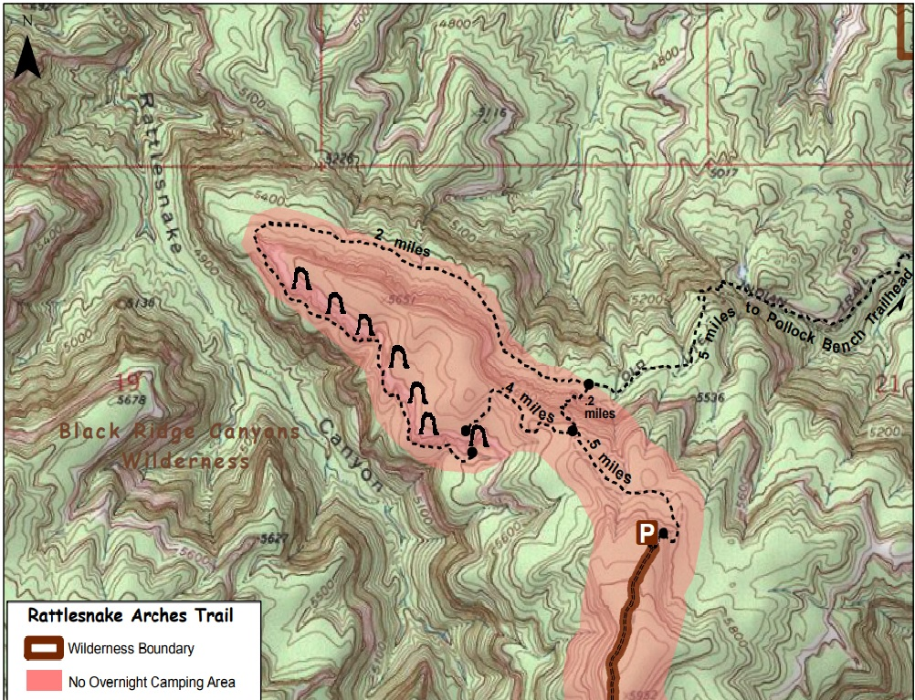 Rattlesnakes In Colorado Map.Rattlesnake Canyon Arches Trail Livelifemobile Com